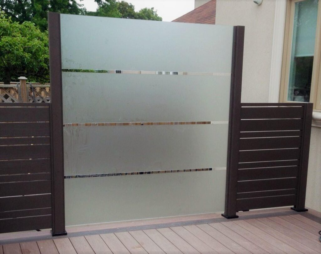 DIY Designing Frosted Glass Privacy Screen for Your Home Exterior 0 matches (4)