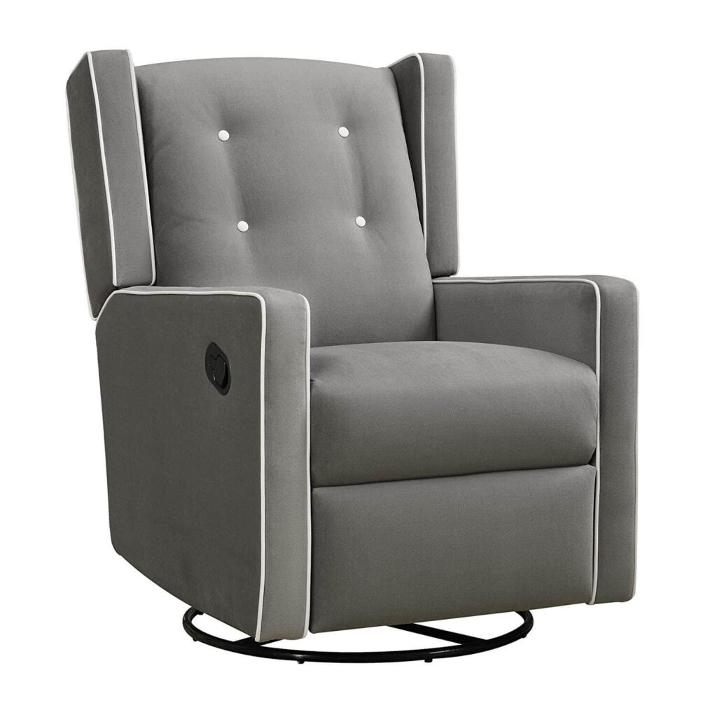 Baby Relax Mikayla Swivel Gliding Recliner – Works Wonders For Lower Back Pain