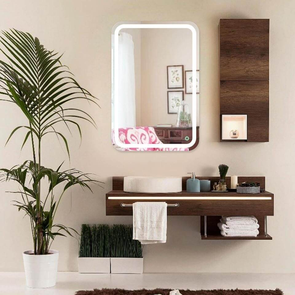 Adding LED mirrors on your vanity