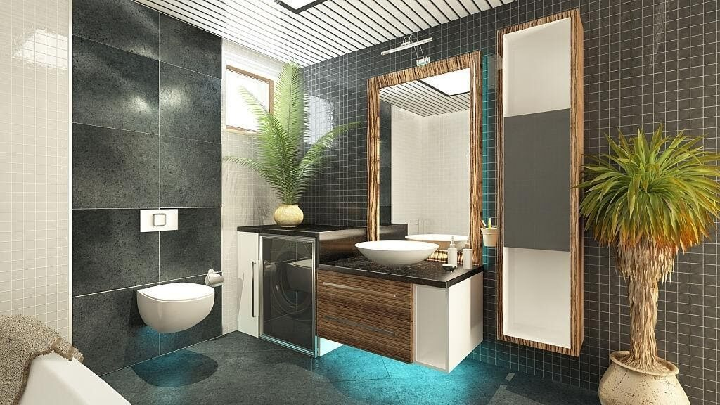 Adding free-standing mirrors in your bathroom