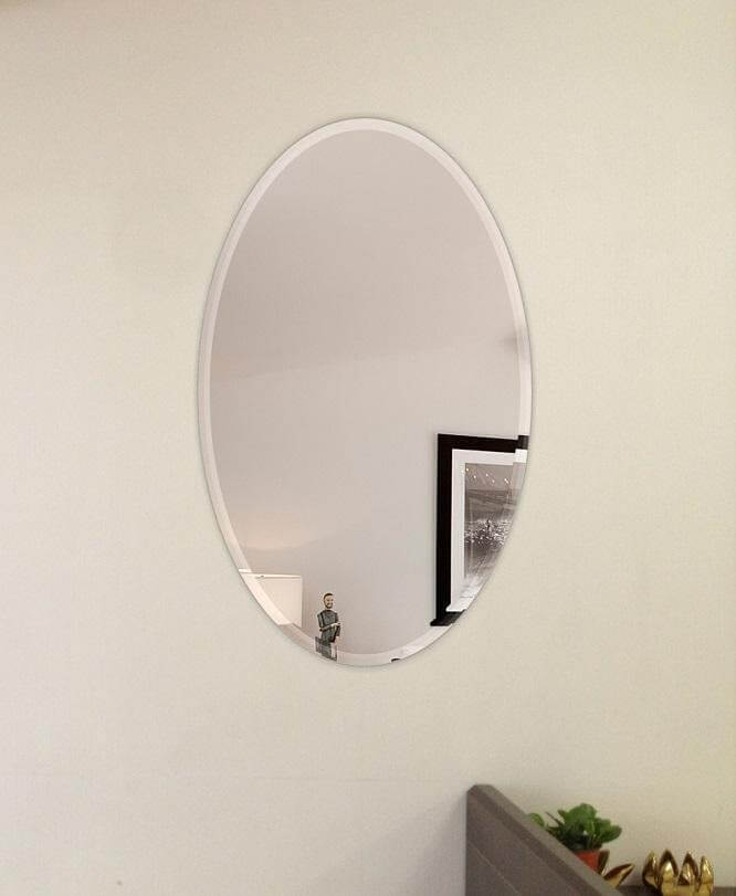 Adding oval-shaped mirrors in your dining room