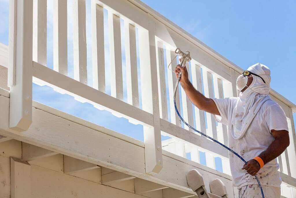 Risk factors during the commercial painting