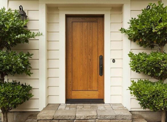 Types of mobile home doors