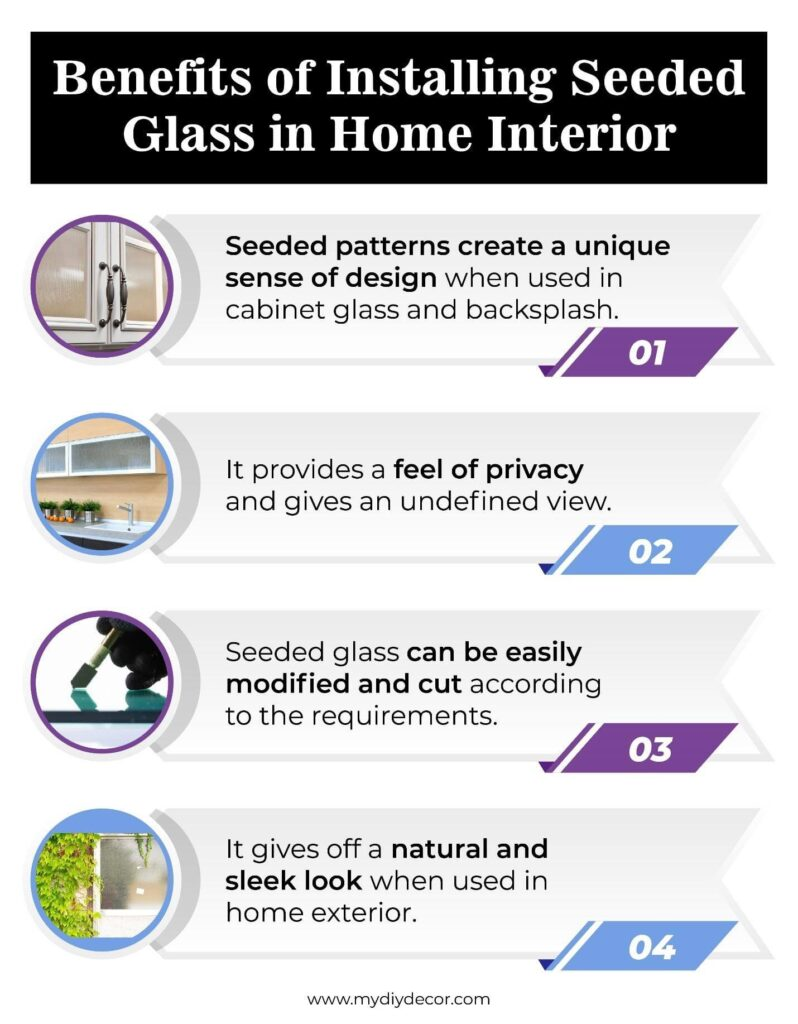 Benefits of Seeded Glass Installation