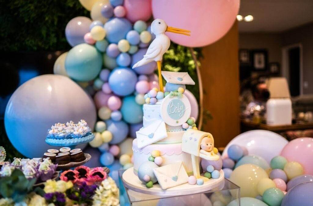 Modern Baby Shower Themes and Gender Reveal Party Decoration Ideas
