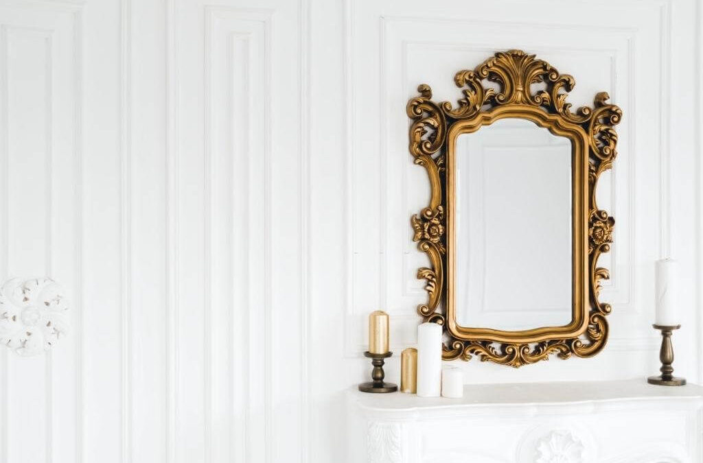 Uses of Antique Wall Mirrors in Home Interior – Rusty Interior Trends